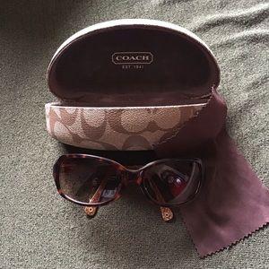 Authentic Coach - Maya Sunglasses in Tortoise, EUC